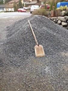 Gravel, gravel, gravel....
