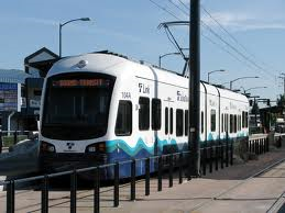Sound Transit Light Rail Train