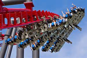 X2 roller coaster - Flickr photo