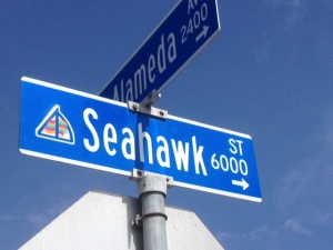 Even in California, people love the Seattle Seahawks.