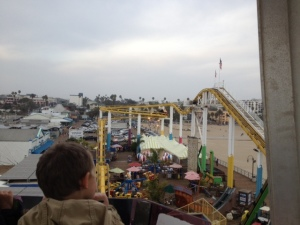 View from the Ferris Wheel.