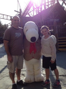Just chillin with Snoopy!