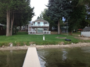 Loon Lake house