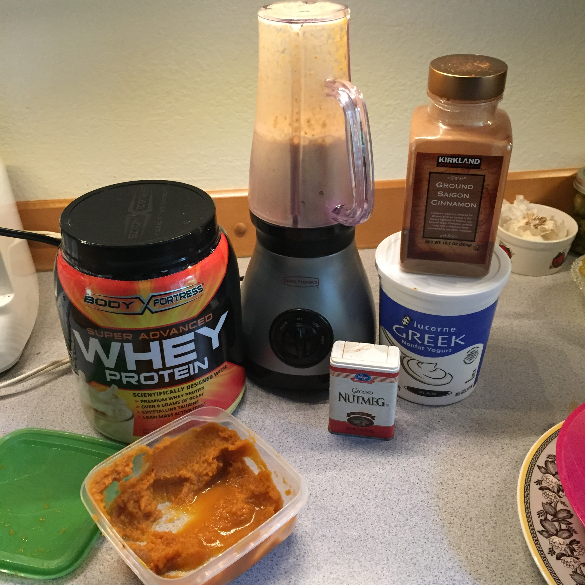 Pumpkin Protein Shake Recipe for you whiney pumpkin lovers ...