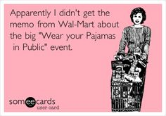 pajamas in public